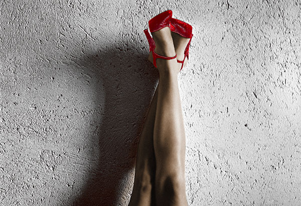 Image of Light Painting All American Legs (Red)