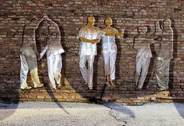 Image of Light Painting Dancing Off the Wall