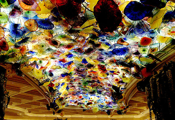 Image of Light Painting Infamous Glass Ceiling