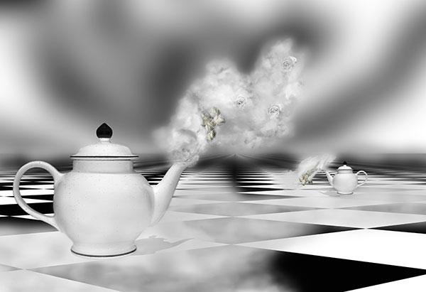 Image of Light Painting Rose Hip Hopped Tea