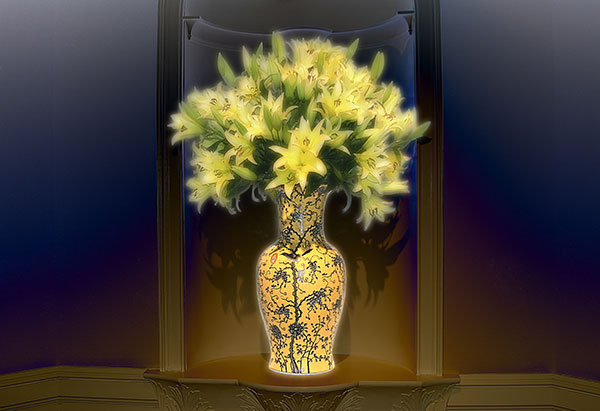 Image of Light Painting Royal Lillies