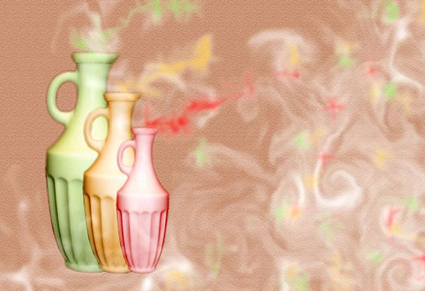 Image of Light Painting Sweet Perfume