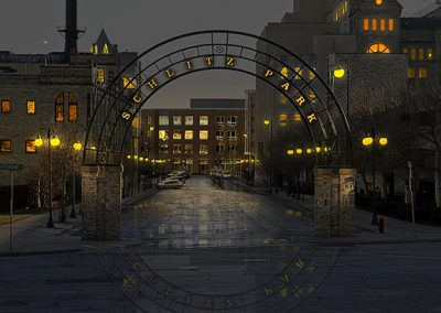 Image of Schlitz Park Light Painting